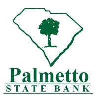 Palmetto State Bank logo in green